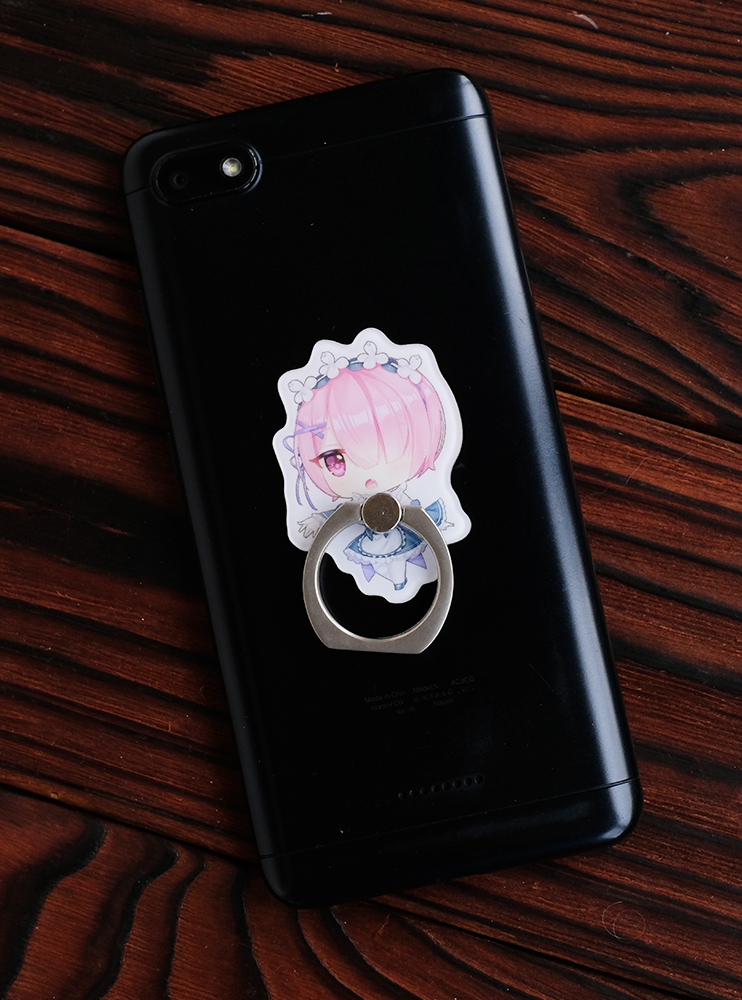 Кільце-тримач для телефона Рам (Re:Zero)