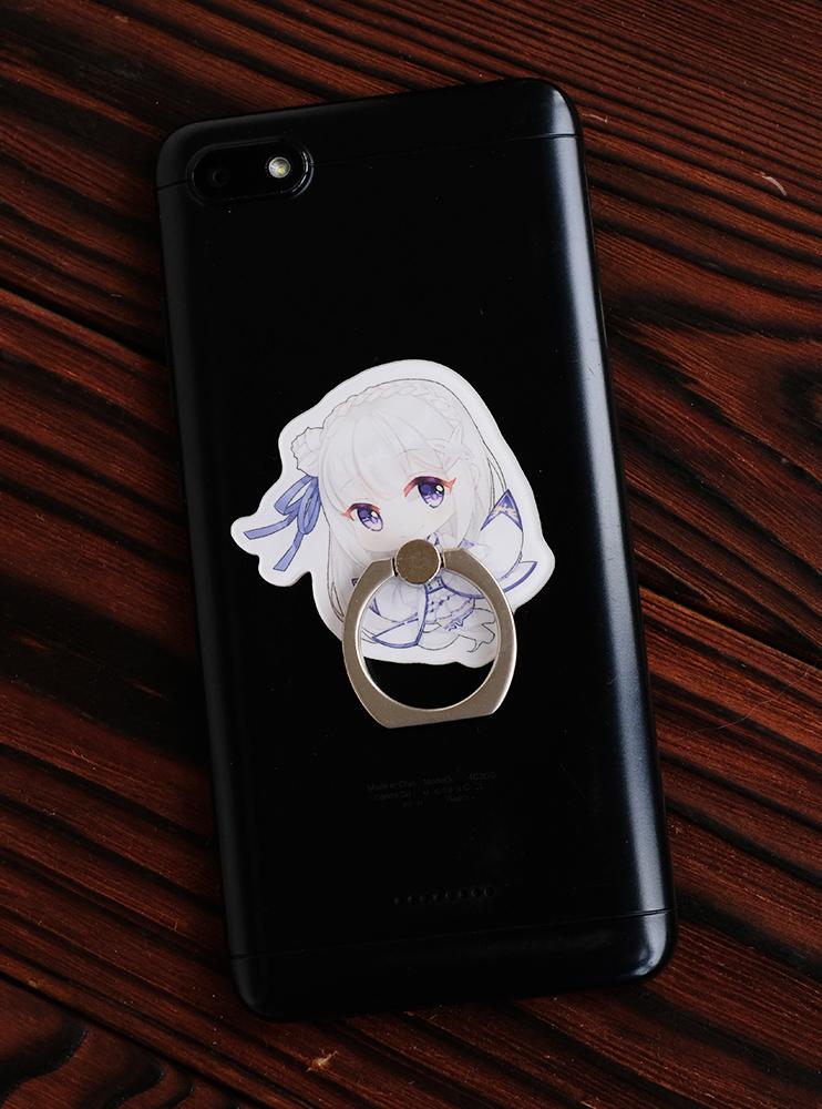 Кільце-тримач для телефона Емілія (Re:Zero)