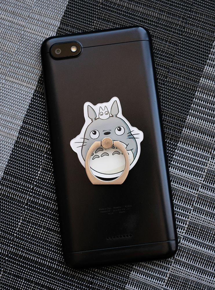 Кільце-тримач для телефона Тоторо і міні (My Neighbor Totoro)