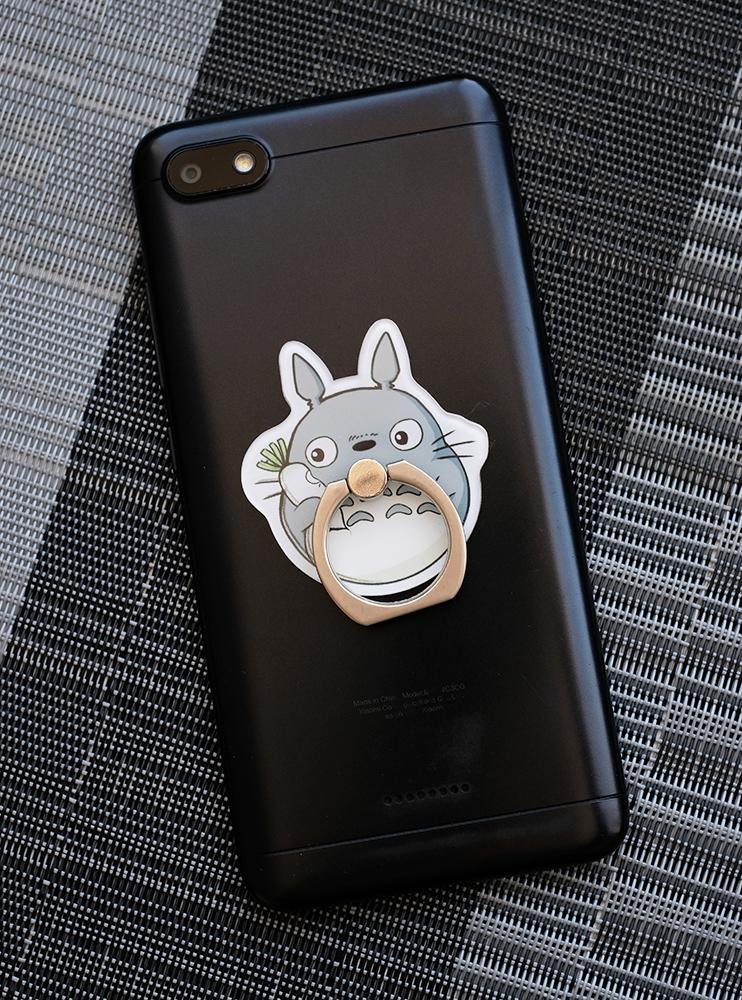 Кільце-тримач для телефона Тоторо і дайкон (My Neighbor Totoro)