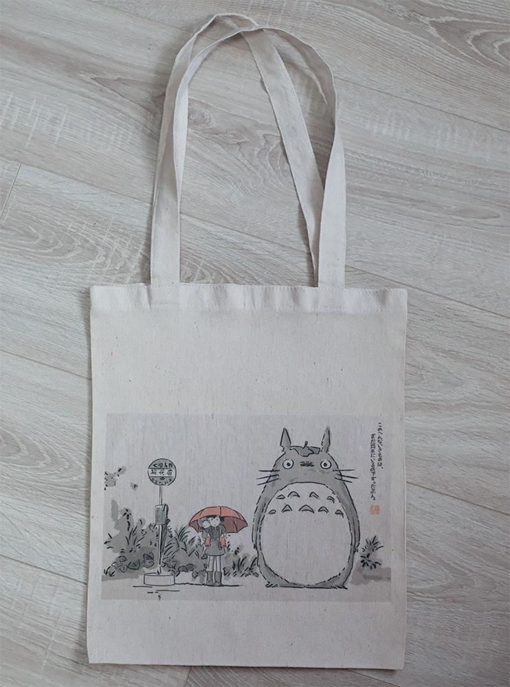 """Шопер """"Мій сусід Тоторо"""" (My Neighbor Totoro)"""