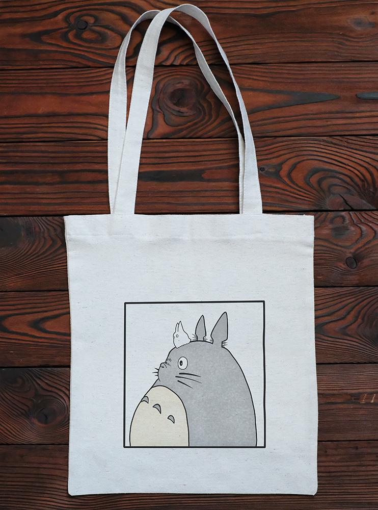 """Шопер """"Мій сусід Тоторо"""" (2) (My Neighbor Totoro)"""