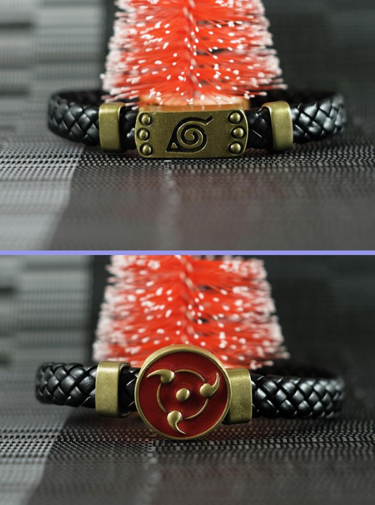 Шкіряні браслети Наруто (Naruto)