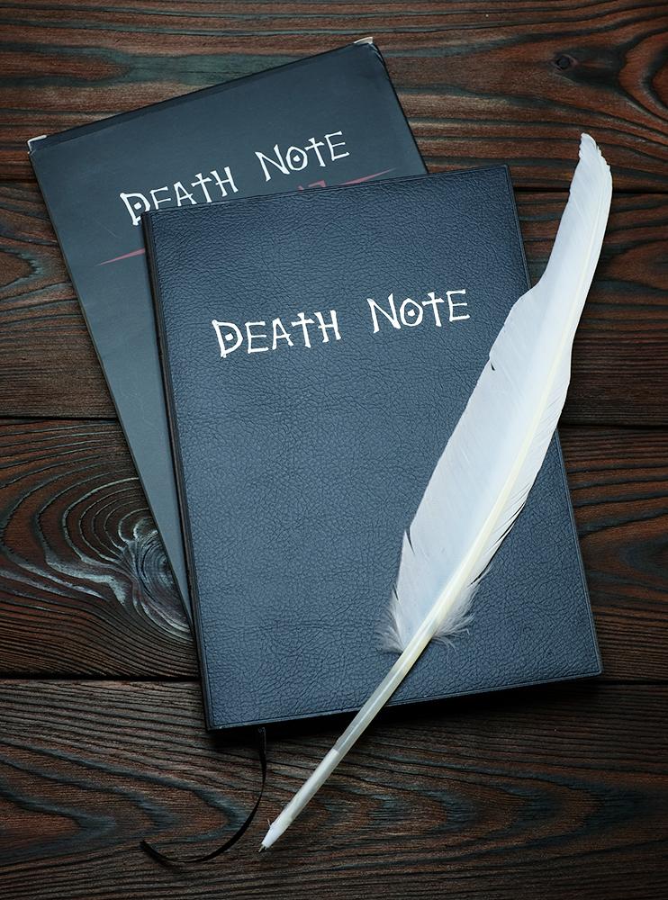 Зошит смерті для косплею (Death Note)