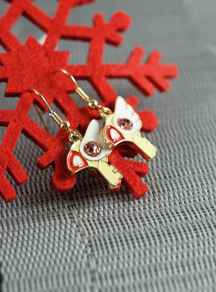 Сережки з посохом Сакури (Cardcaptor Sakura)