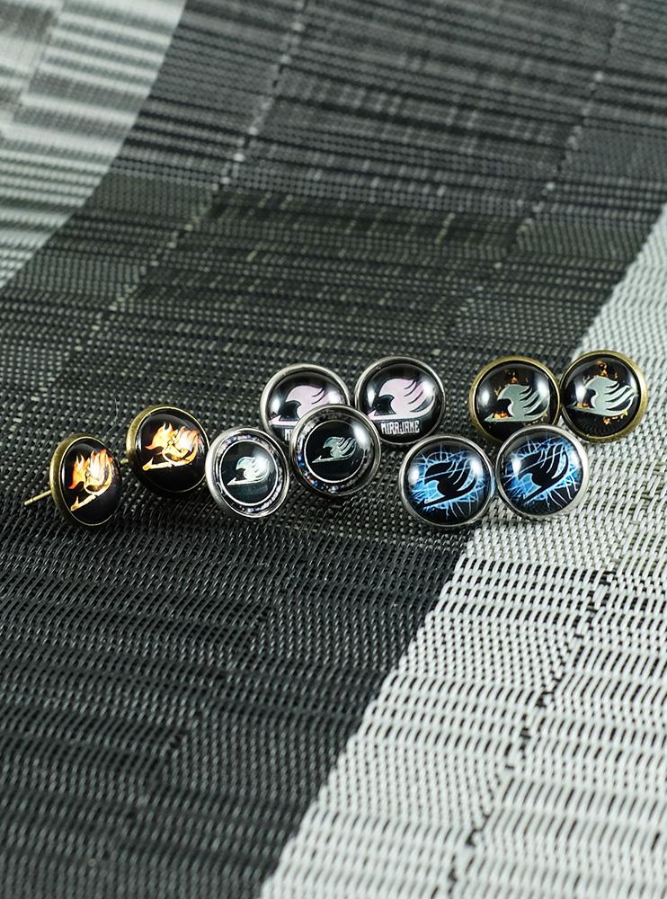Сережки металеві Фейрі Тейл (Fairy Tail)