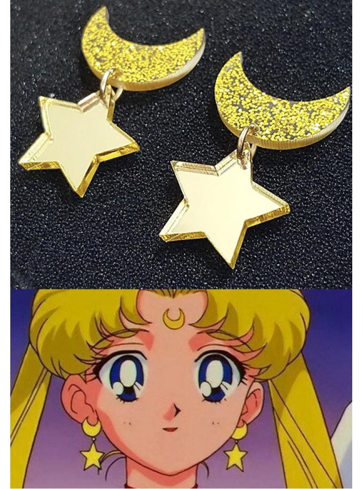 Сережки Сейлор Мун (Sailor Moon)