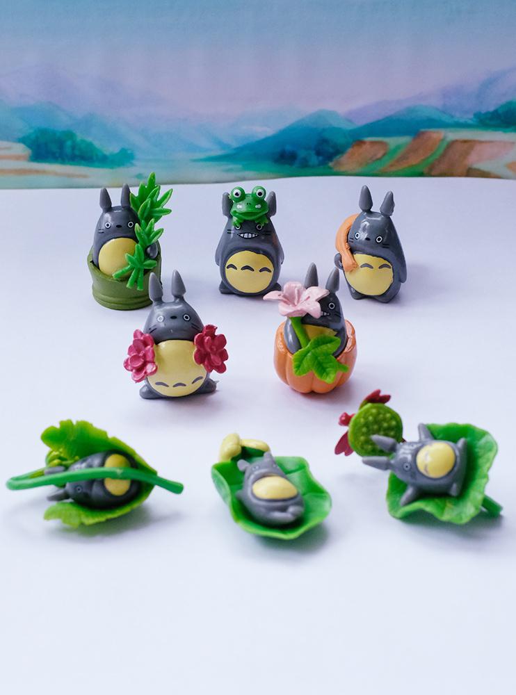 Набір міні фігурок з Тоторо (My Neighbor Totoro)