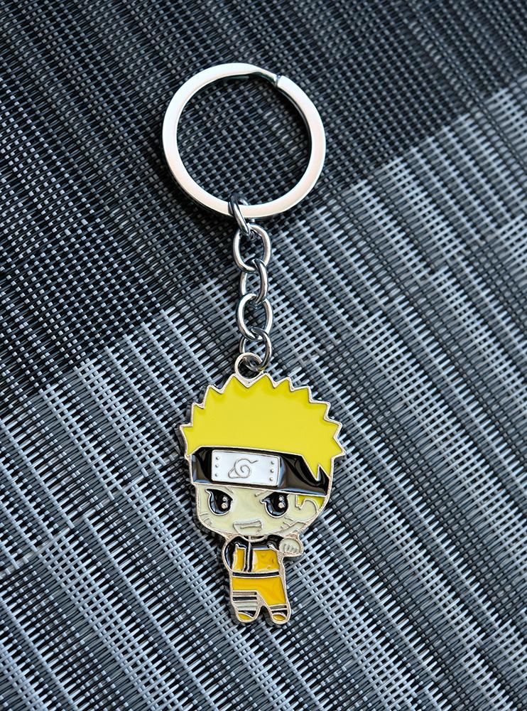 Брелок металевий Наруто (Naruto)