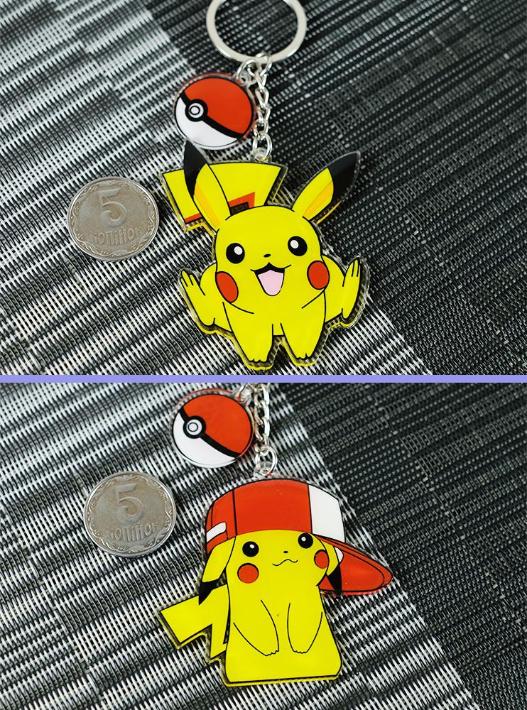 Акрилові брелкі Пікачу (Pokemon)
