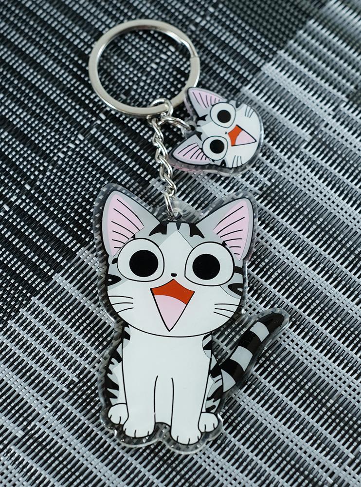 Брелок пластиковий з котом Милий дім Чіі (Chi's Sweet Home)