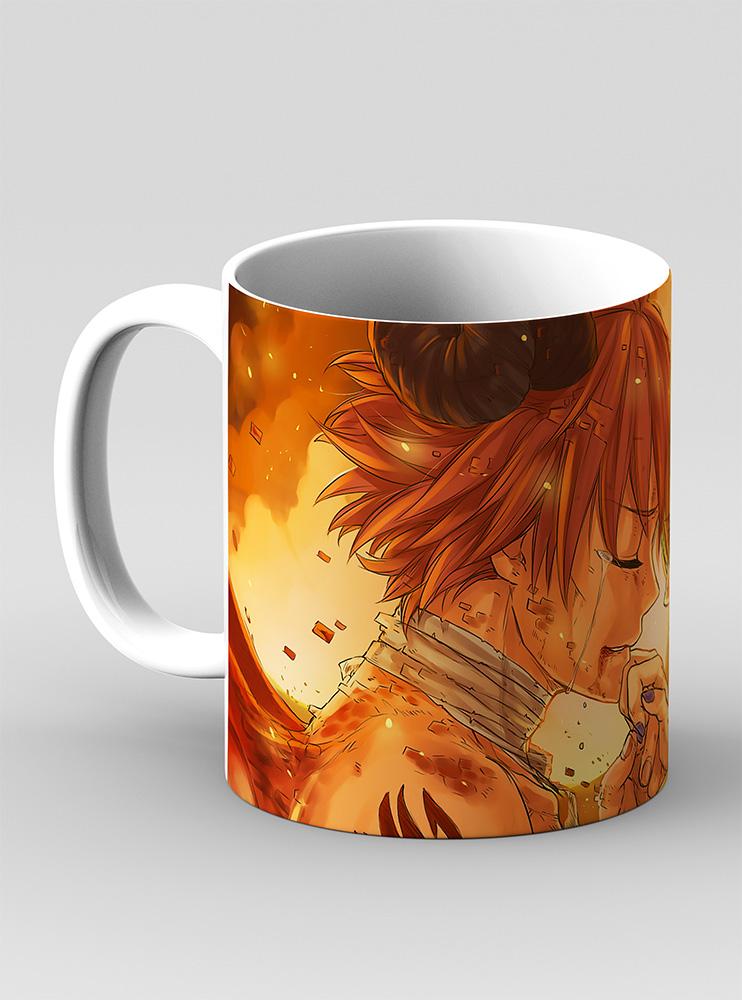 Чашка Нацу І Люсі (Fairy Tail)