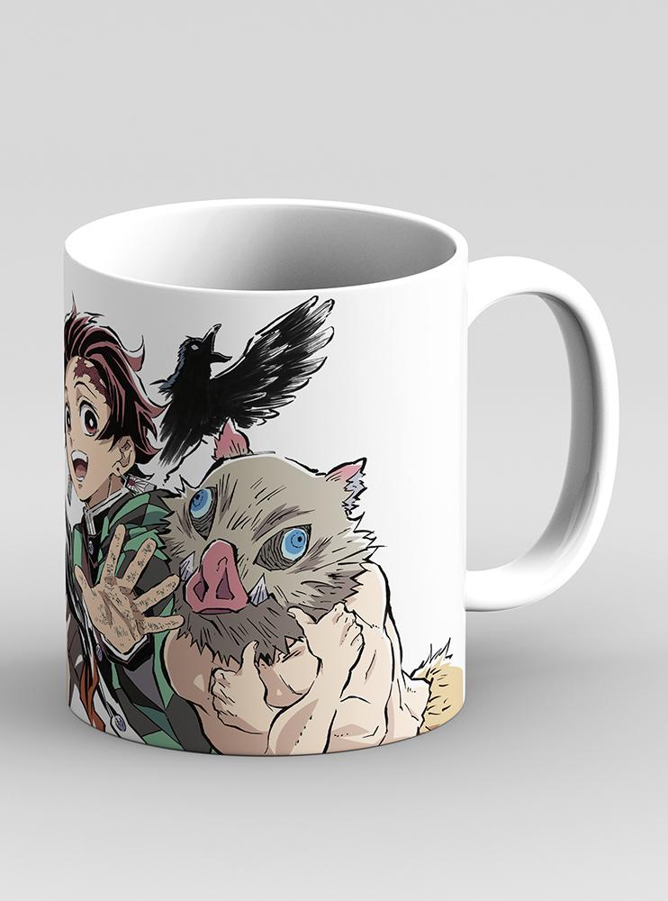 """Чашка """"Клинок розсікаючий демонів"""" 2 (Demon Slayer: Kimetsu no Yaiba)"""