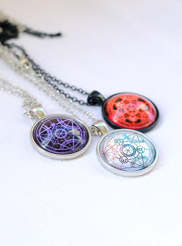 Підвіска з пентаграмою Сталевий алхімік (Fullmetal Alchemist)