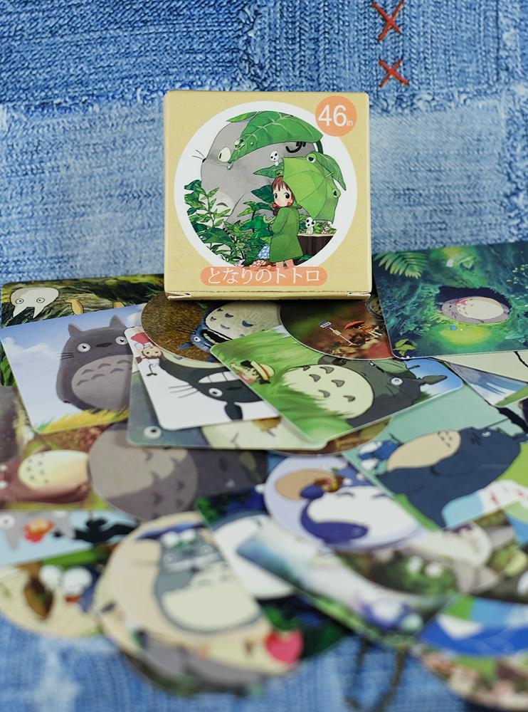 Набір стікерів Тоторо (My Neighbor Totoro)