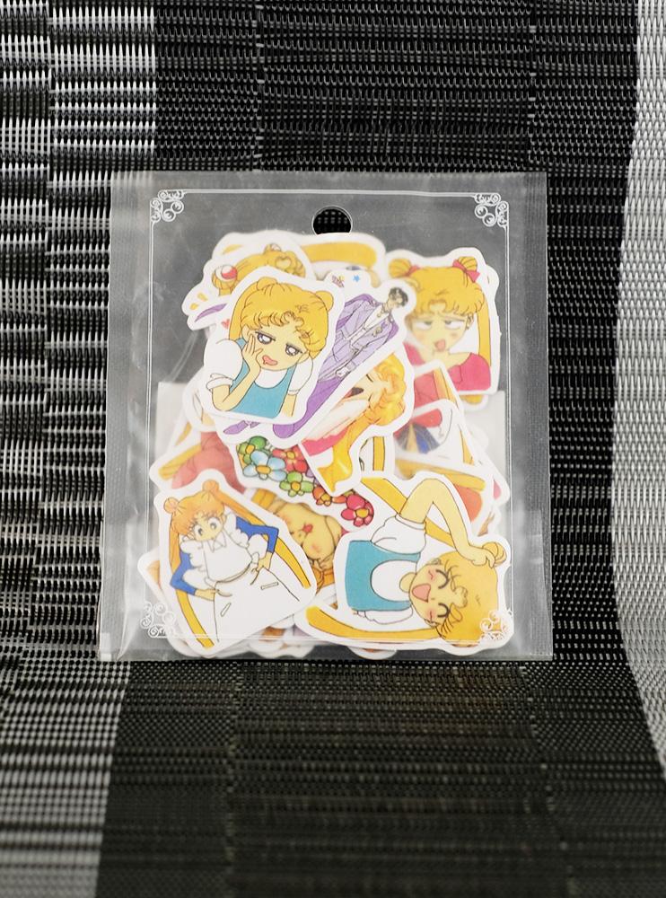 Набір стікерів Сейлормун (Sailor Moon)