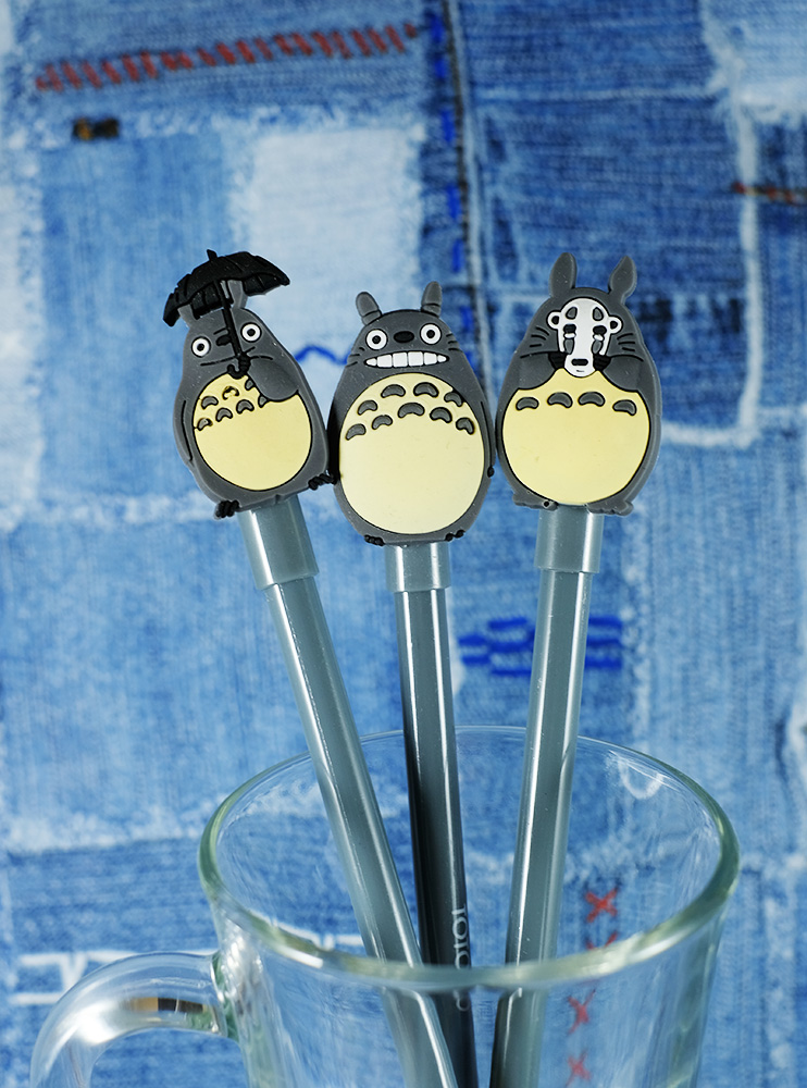 Ручка гелева з фігуркой Тоторо (My Neighbor Totoro)