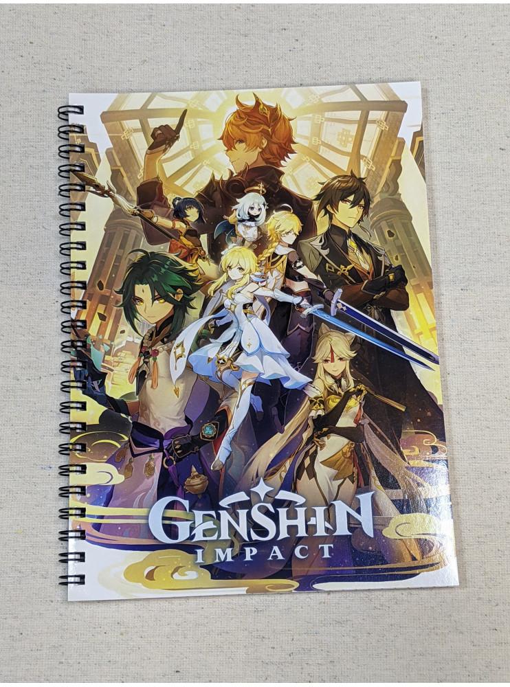 Блокнот Геншин Імпакт (Genshin Impact)
