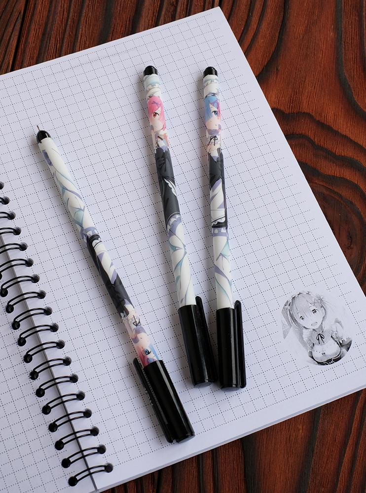 Гелева ручка Рем і Рам (Re:Zero)
