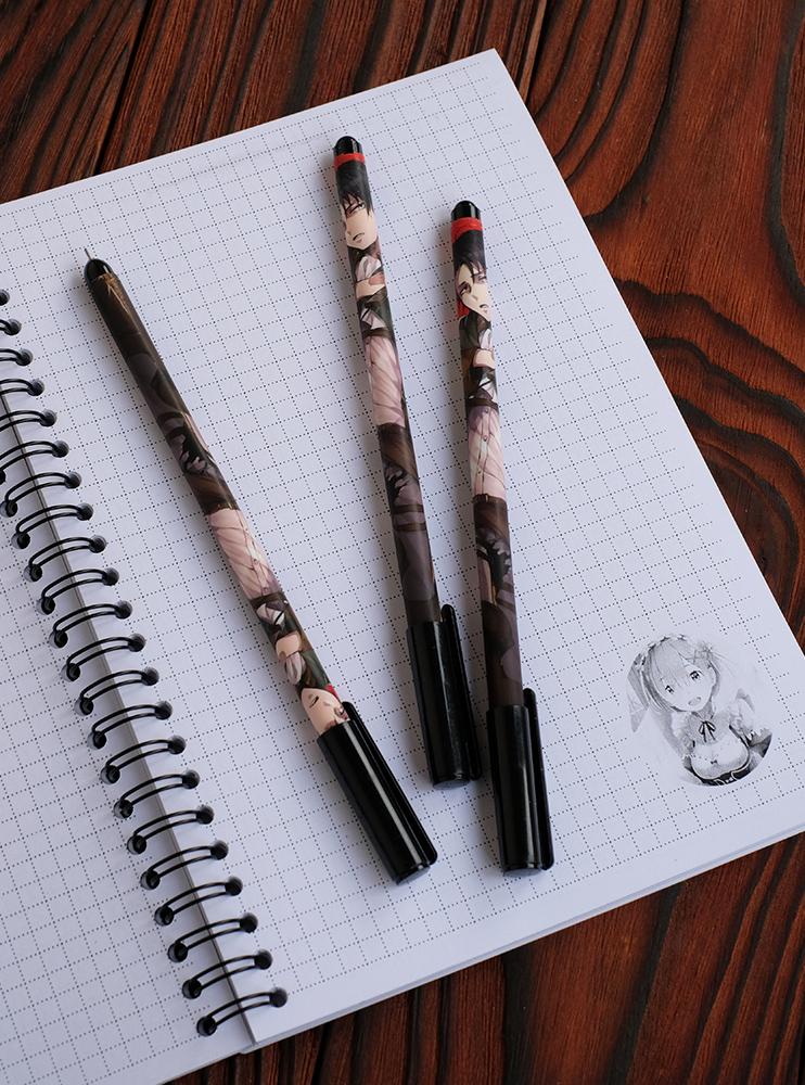 Гелева ручка Леві (Attack on Titan)