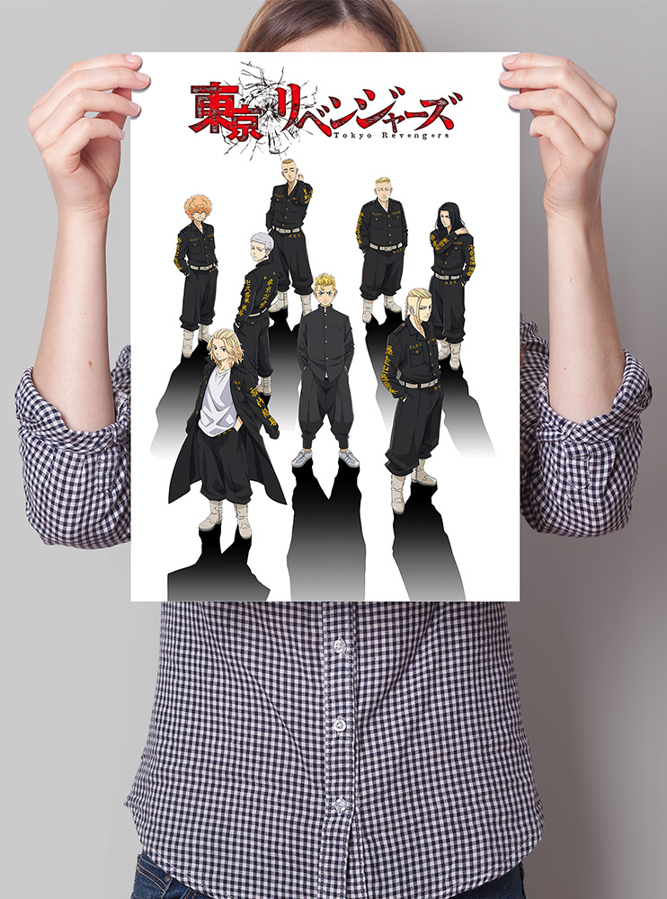 "Плакат А3 ""Токійські месники"" (Tokyo Revengers)"