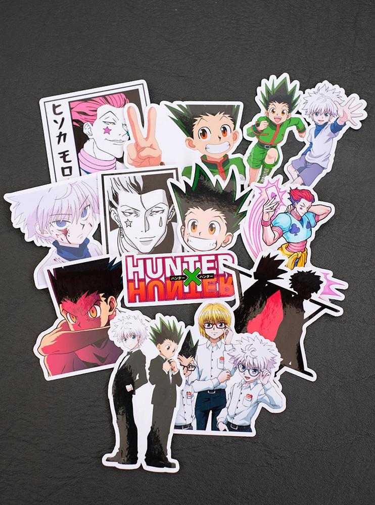 """Стікерпак """"Хантер х Хантер"""" (Hunter x Hunter)"""