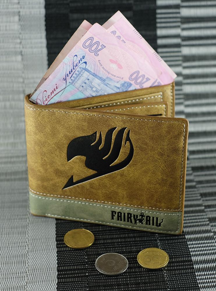 Гаманець коричневий Хвіст Феї (Fairy Tail)