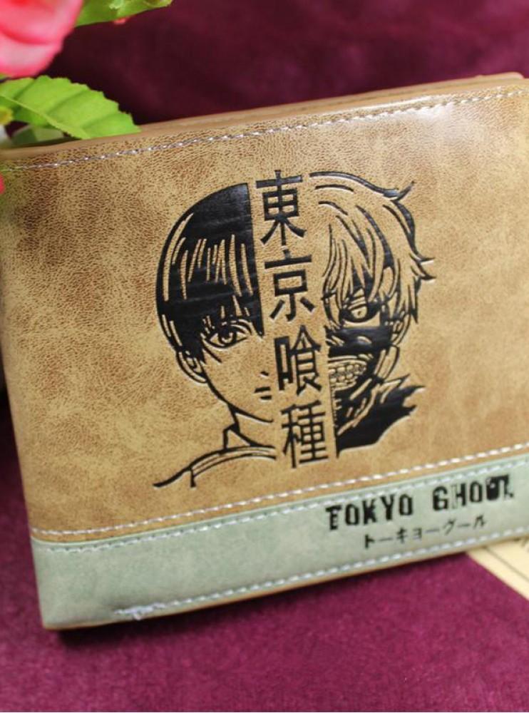Гаманець коричневий Токійський Гуль (Tokyo Ghoul)